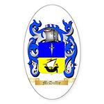 McDuffie Sticker (Oval 50 pk)