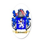 McDowell Oval Car Magnet