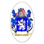 McDowell Sticker (Oval 50 pk)
