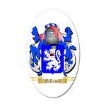 McDowell 20x12 Oval Wall Decal