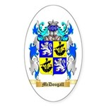 McDougall Sticker (Oval 50 pk)