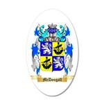 McDougall 20x12 Oval Wall Decal