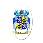 McDougall 35x21 Oval Wall Decal