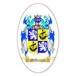 McDougal Sticker (Oval 50 pk)