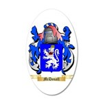 McDouall 20x12 Oval Wall Decal