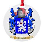McDoual Round Ornament