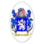 McDoual Sticker (Oval 50 pk)