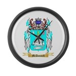 McDonnell 2 Large Wall Clock
