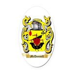 McDonnell (Glengarry) Oval Car Magnet
