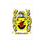 McDonnell (Glengarry) Sticker (Rectangle 50 pk)