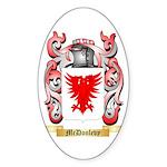 McDonlevy Sticker (Oval 50 pk)
