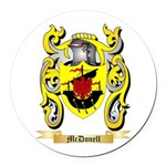 McDonell Round Car Magnet