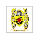 McDonell Square Sticker 3