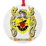 McDonald Round Ornament