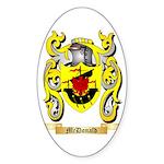 McDonald Sticker (Oval)