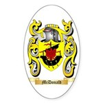 McDonald Sticker (Oval 50 pk)