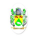 McDonagh Oval Car Magnet