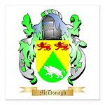 McDonagh Square Car Magnet 3