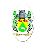 McDonagh 35x21 Oval Wall Decal