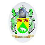 McDonagh Oval Ornament
