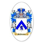 McDicken Sticker (Oval 50 pk)