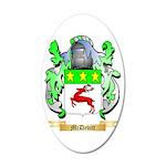 McDevitt 35x21 Oval Wall Decal
