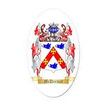 McDermot Oval Car Magnet