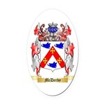 McDerby Oval Car Magnet