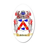 McDerby 20x12 Oval Wall Decal