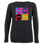 15 Minutes Of Fame Plus Size Long Sleeve Tee