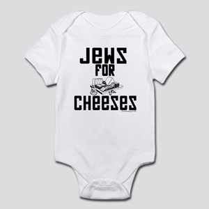 Jews for Cheeses Infant Bodysuit