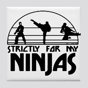 strictlyNinjas3.png Tile Coaster