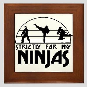 strictlyNinjas3 Framed Tile