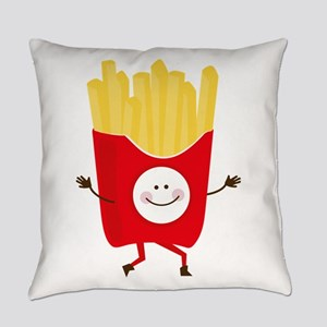 Happy Fries Everyday Pillow