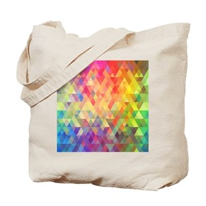 74fdff9b22 Rainbow Canvas Tote Bags - CafePress
