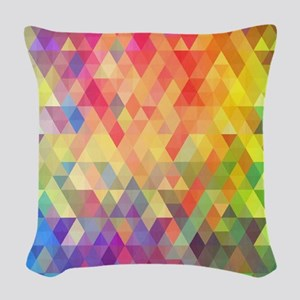 Prism Woven Throw Pillow