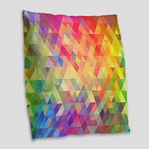 Prism Burlap Throw Pillow