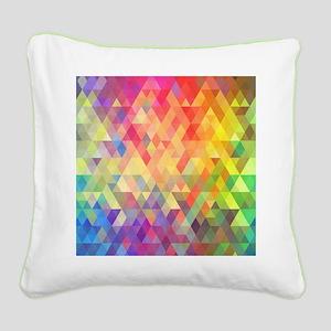 Prism Square Canvas Pillow