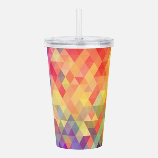 Prism Acrylic Double-wall Tumbler