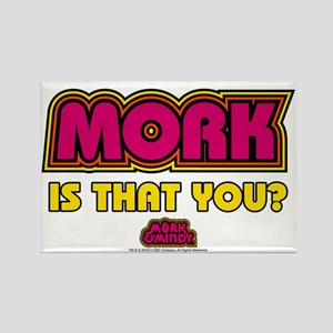 Mork Is That You? Rectangle Magnet