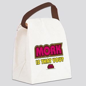 Mork Is That You? Canvas Lunch Bag