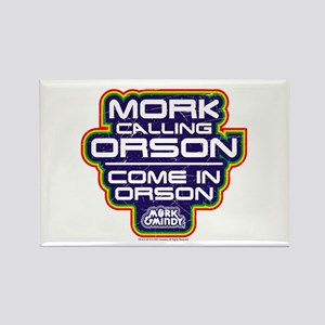 Mork Calling Orson Rectangle Magnet