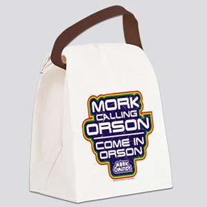 Mork Calling Orson Canvas Lunch Bag