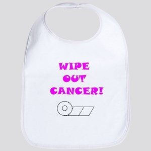 WIPE OUT CANCER Bib