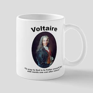 Voltaire Pray Mug
