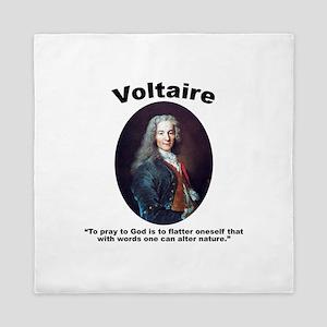 Voltaire Pray Queen Duvet