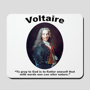 Voltaire Pray Mousepad