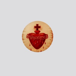 Sacred Heart House Mini Button