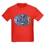 WYOMING Kids Dark T-Shirt