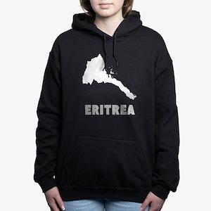 Eritrea Silhouette Women's Hooded Sweatshirt